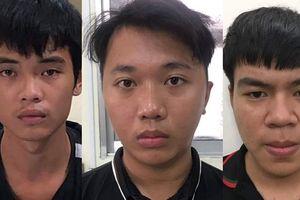 Ba thanh niên vây chém người trong quán nhậu vì bị 'nhìn đểu'