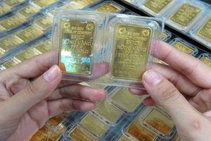 Giá vàng SJC tiếp tục giảm sâu