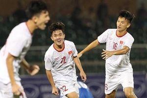 Thắng Mông Cổ 3-0, U.19 Việt Nam tạm đứng sau Nhật Bản ở vòng loại châu Á 2020