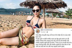 Hotgirl Trâm Anh gây sốc khi tiết lộ bị rất nhiều người mạo danh bán dâm và lừa đảo