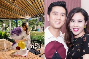 Hồ Hoài Anh tổ chức sinh nhật cho Lưu Hương Giang, gọi 'vợ yêu' sau ồn ào ly hôn