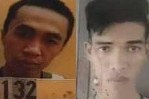 Truy bắt 2 đối tượng trốn khỏi nhà giam ở Bình Phước