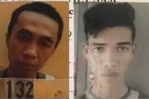 Truy nã hai đối tượng trốn khỏi nhà tạm giữ ở Bình Phước