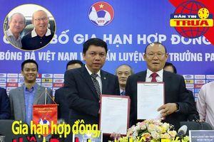 Tái ký hợp đồng, thầy Park cảm ơn bầu Đức; Indo tốn tiền tỉ