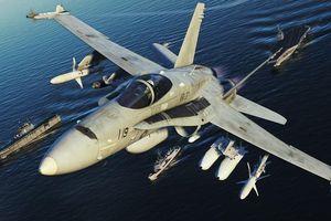 Tiêm kích F/A-18C cuối cùng của Không quân Mỹ đã chính thức 'về hưu'
