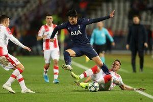Son Heung-Min tỏa sáng, Tottenham đè bẹp Crvena Zvezda