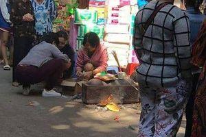 Hà Nội: Phát hiện thi thể trẻ sơ sinh trong thùng rác