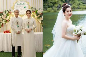 'Lộ diện' dung nhan cô dâu chú rể trong đám cưới sát vách xôn xao mạng xã hội những ngày qua