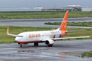 Cận cảnh vết nứt trên máy bay Boeing 737-NG ở Hàn Quốc