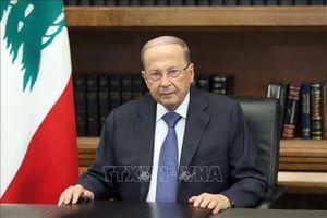 Tổng thống Liban cam kết thành lập chính phủ mới đủ khả năng điều hành đất nước