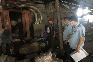 Gần nửa tấn chả mực nhập lậu từ Trung Quốc về Quảng Ninh