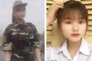 Cô gái 18 tuổi xinh đẹp bảo lưu kết quả đại học, viết đơn xin nhập ngũ