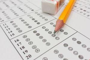 Cẩn trọng thi trắc nghiệm 100% môn toán