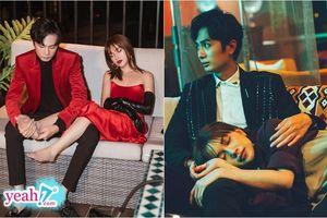 Huỳnh Phương bóp chân, ngồi trông cho bạn gái ngủ trong hậu trường quay MV mới