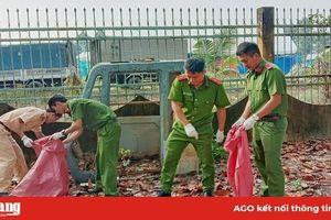 Công an huyện Châu Phú phát động phong trào 'Chống rác thải nhựa'
