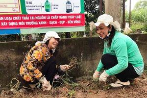 Nâng cao ý thức bảo vệ môi trường cho hội viên nông dân