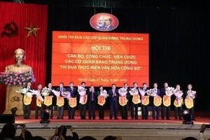 Hội thi 'Cán bộ, công chức, viên chức các cơ quan đảng Trung ương thi đua thực hiện văn hóa công sở'