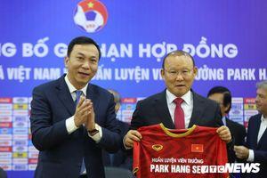 HLV Park Hang Seo gia hạn hợp đồng 3 năm, tiếp tục nâng tầm bóng đá Việt Nam