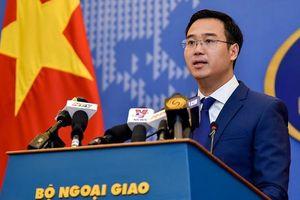 Bộ Ngoại giao trả lời câu hỏi bao giờ Việt Nam kiện Trung Quốc?