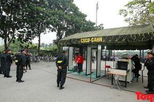 Tăng cường tối đa các phương án an ninh cho hai trận đấu của ĐT Việt Nam