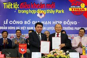 Tiết lộ điều khoản trong hợp đồng thầy Park; Wenger bị từ chối
