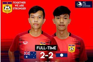 Lào gây sốc trước Úc, bóng đá Đông Nam Á thăng hoa giải châu Á