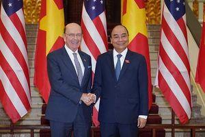 Thủ tướng tiếp Bộ trưởng Thương mại Hoa Kỳ