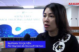 Microsoft Việt Nam đồng hành 'Kiến tạo môi trường làm việc số' với các cơ quan báo chí