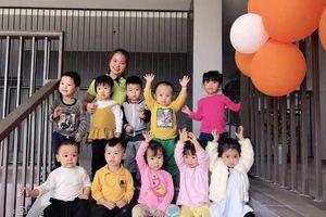 Cơ sở 2 Trường mầm non Trí Đức đón chào hàng trăm học sinh ngày đầu đến trường