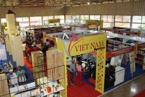 Gian hàng quốc gia Việt Nam gây chú ý tại FIHAV 2019