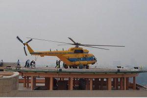 Lần đầu tiên trực thăng cấp cứu đáp trên nóc Bệnh viện Quân y 175