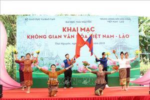Khai mạc Không gian Văn hóa Việt Nam - Lào