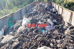 Vụ đổ trộm rác thải ở Bình Phước: Khẩn trương xác định khối lượng và chủ mỏ đá