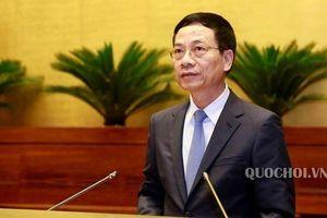 Bộ trưởng Nguyễn Mạnh Hùng: Cấm báo chí quảng cáo không kiểm soát nội dung