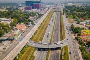 Thông xe dự án nút giao thông Đại học Quốc gia Tp. Hồ Chí Minh