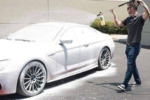 Công nghệ rửa xe không chạm sẽ thay thế cách rửa xe truyền thống?