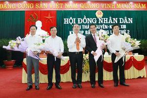 Thủ tướng phê chuẩn Phó Chủ tịch UBND tỉnh Thái Nguyên đối với đồng chí Lê Quang Tiến