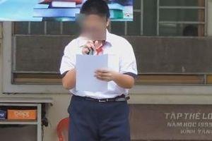 Hiệu phó nhận sai sau công khai clip kỉ luật học sinh xúc phạm ban nhạc BTS