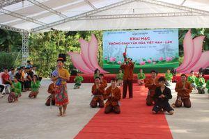 Ấn tượng 'Không gian văn hóa Việt Nam – Lào' tại Đại học Thái Nguyên