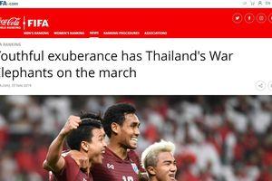Thái Lan bất ngờ nhận tin vui từ FIFA trước trận đấu với Việt Nam