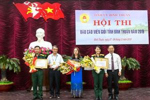 Bình Thuận: Hội thi báo cáo viên giỏi