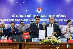 Bản hợp đồng giữa ông Park và VFF: Cho và nhận