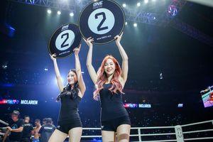 Ring Girl khuấy động giải võ thuật lớn nhất châu Á