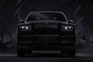 SUV siêu sang của Rolls-Royce bản đặc biệt Black Badge ra mắt
