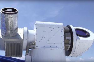 Vũ khí laser ATHENA bắn hạ máy bay không người lái