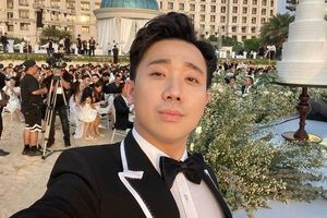 Trấn Thành nhắc chuyện đổ vỡ của Hari Won, Tiến Đạt ở lễ cưới Đông Nhi