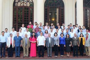 Bí thư Thành ủy Hoàng Trung Hải đối thoại với đại biểu MTTQ Việt Nam TP Hà Nội