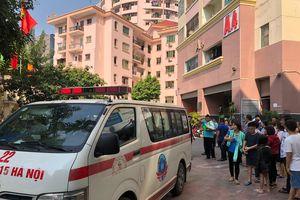Cháy căn hộ tại làng quốc tế Thăng Long, Hà Nội