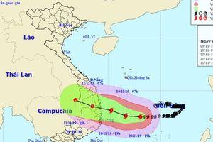 Đêm nay, các tỉnh Nam Trung Bộ và Tây Nguyên mưa lớn