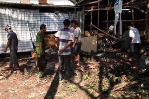 Dùng đầu đạn pháo kê làm kiềng bếp, khiến 9 người bị thương